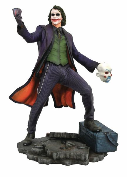 The Joker Dark Knight Movie Gallery Statue