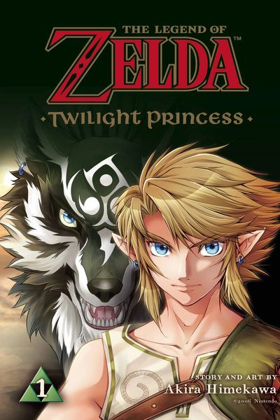 Zelda Twilight Princess Manga Vol. 1