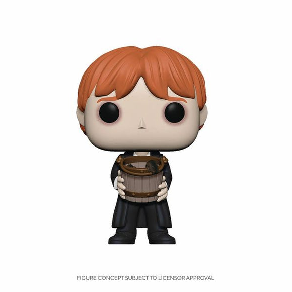Ron Puking Slugs With Bucket Funko Pop!