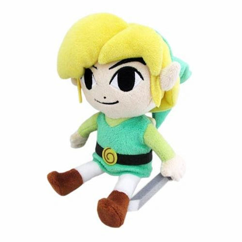 "Toon Link 8"" Plush from The Legend of Zelda: The Wind Waker"