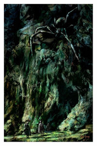 """Shelob"" Print by Cliff Cramp"