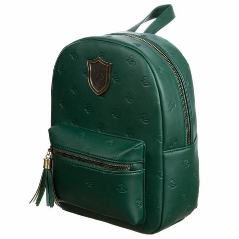 Slytherin Hogwarts House Mini Backpack