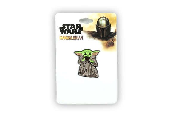 Baby Yoda with Soup Bowl Pin