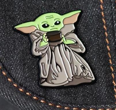 The Child (Baby Yoda) with Soup Bowl Pin