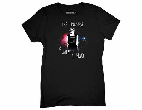 The Universe is Where I Play Women's Shirt