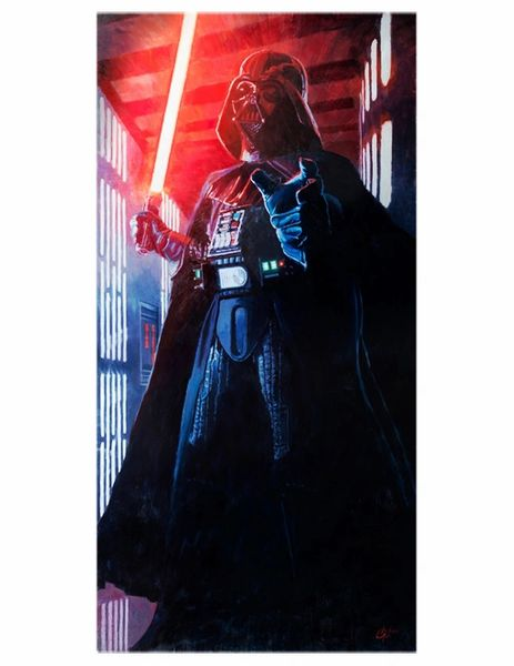 Confronting Vader Print