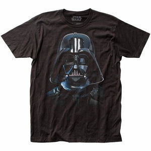 Darth Vader Helmet Black Shirt