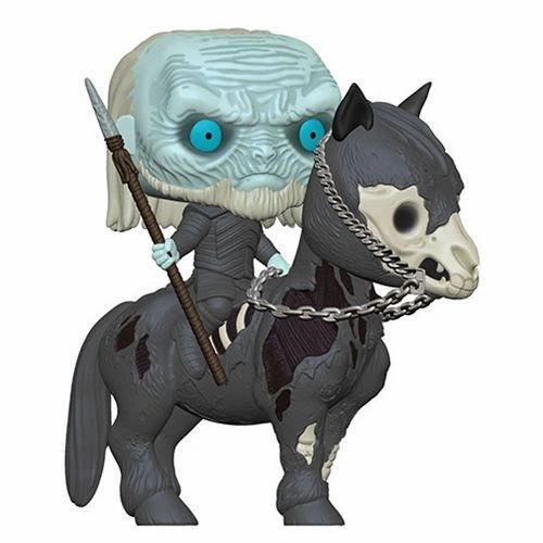 White Walker on Horse Funko Pop