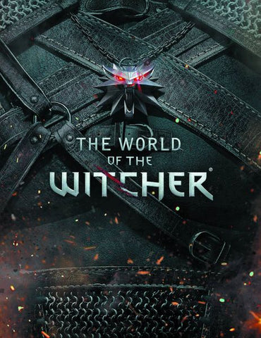 World of the Witcher Hardcover Book