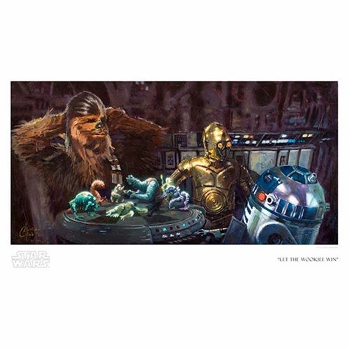 Let The Wookiee Win Print