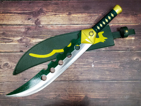 Seven Deadly Sins Lostvayne Sword of Meliodas Steel Replica