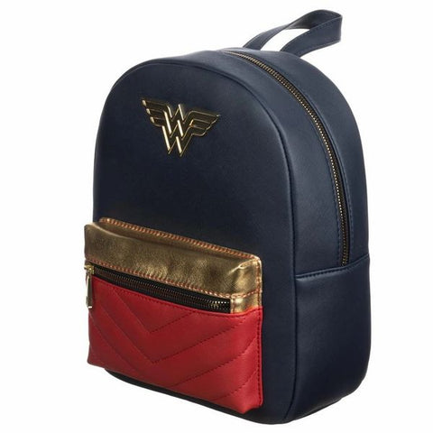 Wonder Woman Faux Leather Mini Backpack