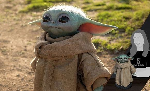 The Child (Baby Yoda) Life Size Figure by Sideshow