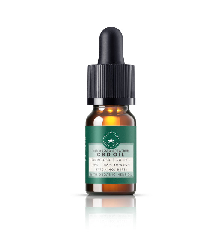 CBD Oil - 10% - 1000mg (hemp carrier oil)