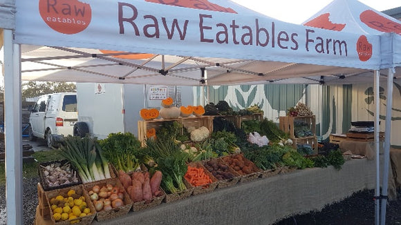 Raw Eatables Organic Farm WINTER delivery options - Week 26 - Delivery June 25th, 2020