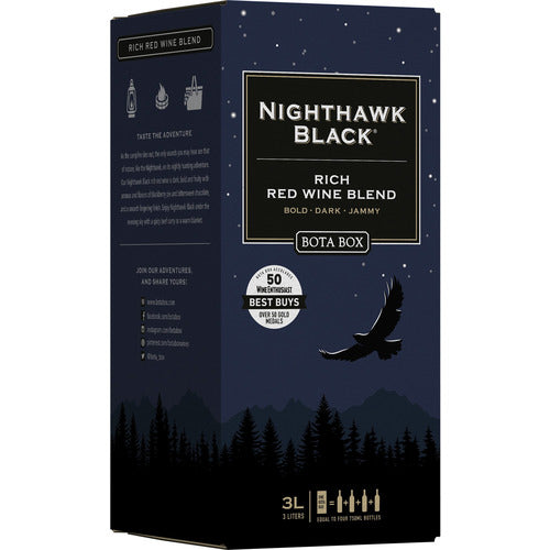 Bota Box Nighthawk Black Red Blend 3L