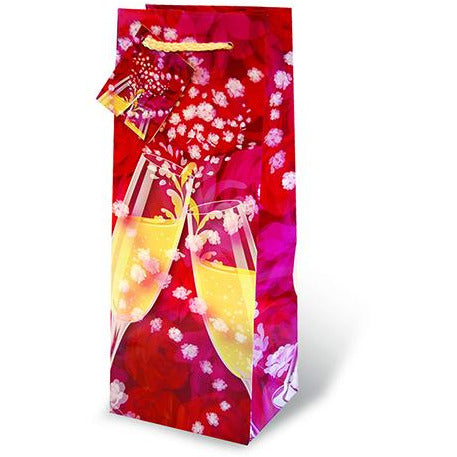Champagne Roses Wine Bag 750ml