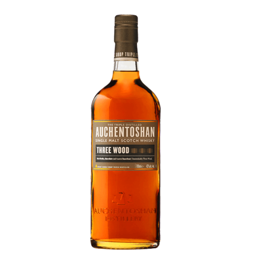 Auchentoshan Three Wood 750ml
