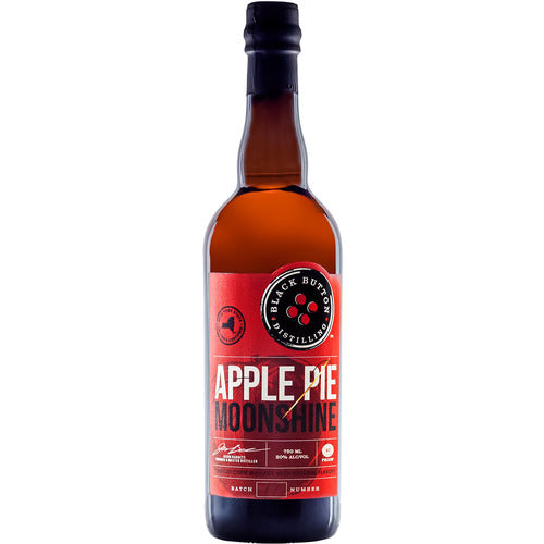 Black Button Apple Pie Moonshine 750ml
