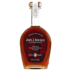 Bowman John J Single Barrel Virginia Straight Bourbon 750ml