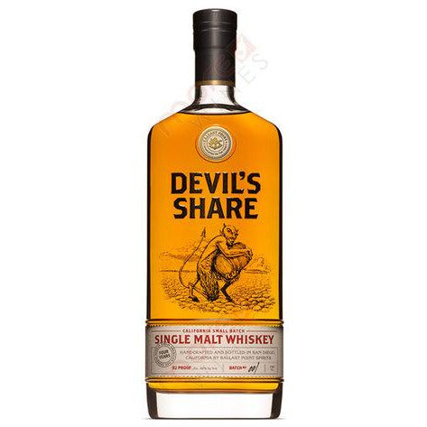 Devil's Share Single Malt Scotch 750ml