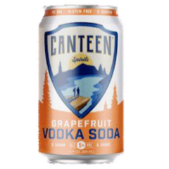 Canteen Grapefruit Vodka Soda 355ml