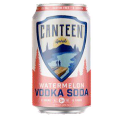 Canteen Watermelon Vodka Soda 355ml