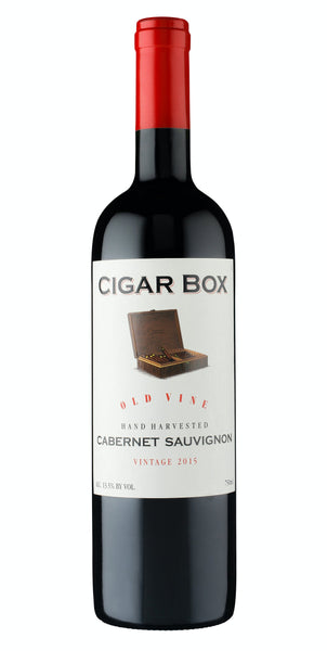 Cigar Box Cabernet Sauvignon Old Vine Hand Harvested 750ml