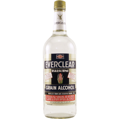 Everclear Grain Alcohol 190° 1L