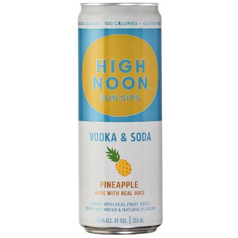 High Noon Pineapple Sun Sips Pineapple 355ml