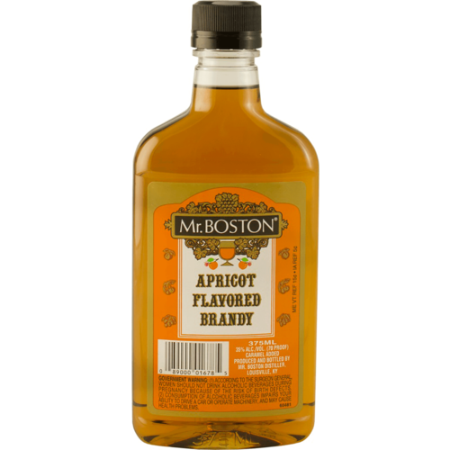 Mr Boston Apricot Brandy 375ml