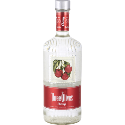 Three Olives Cherry Vodka 1.75L