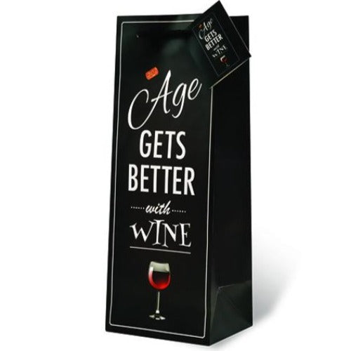 Age Gets Better With Wine Gift Bag