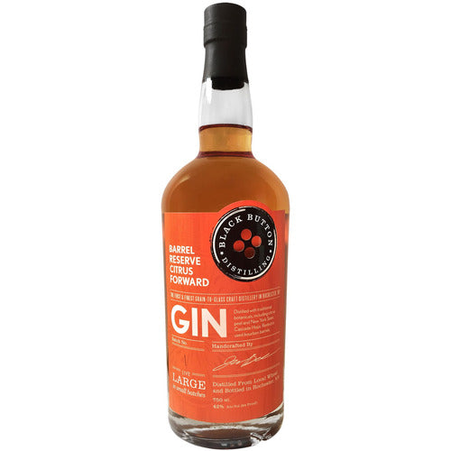Black Button Citrus Gin 750ml
