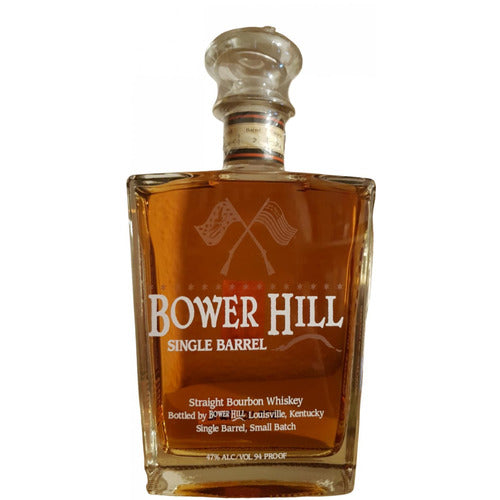 Bower Hill Single Barrel Bourbon 750ml