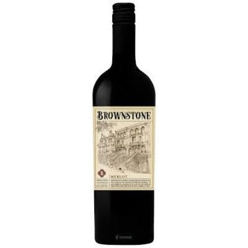 Brownstone Merlot 750ml