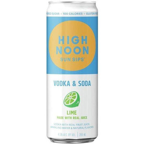 High Noon Lime Sun Sips Lime 355ml