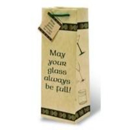 May Your Glass Be Full Gift Bag