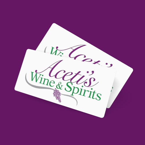 Aceti's Wine & Spirits Gift Card