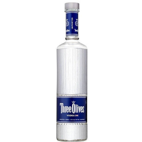 Three Olives Vodka 750ml