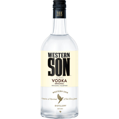 Western Son Vodka 80° 1.75L