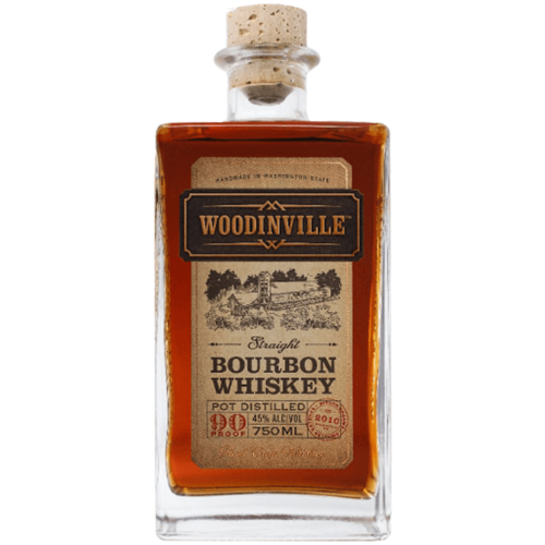 Woodinveille Straight Bourbon 750ml