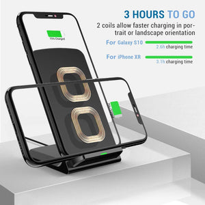 Qi Wireless Charger Stand For Smart Phones