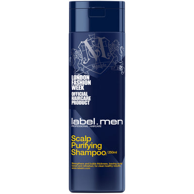 label.m Men's Scalp Purifying Shampoo 8.5 Fl. Oz. / 250 mL