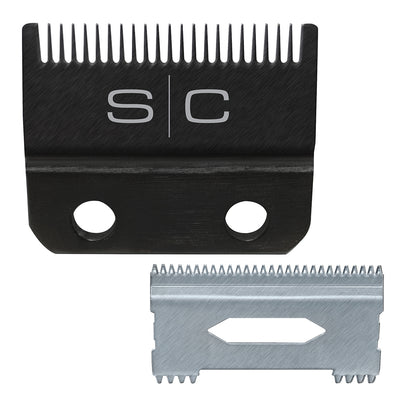 StyleCraft Clipper Blade w/ DLC Fixed Blade & Steel Shallow Tooth Cutter