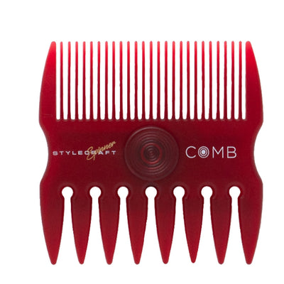 StyleCraft Spinner Comb - Red
