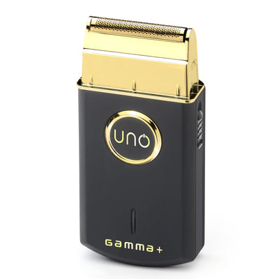 Gamma+ Uno Single Foil Shaver - Black