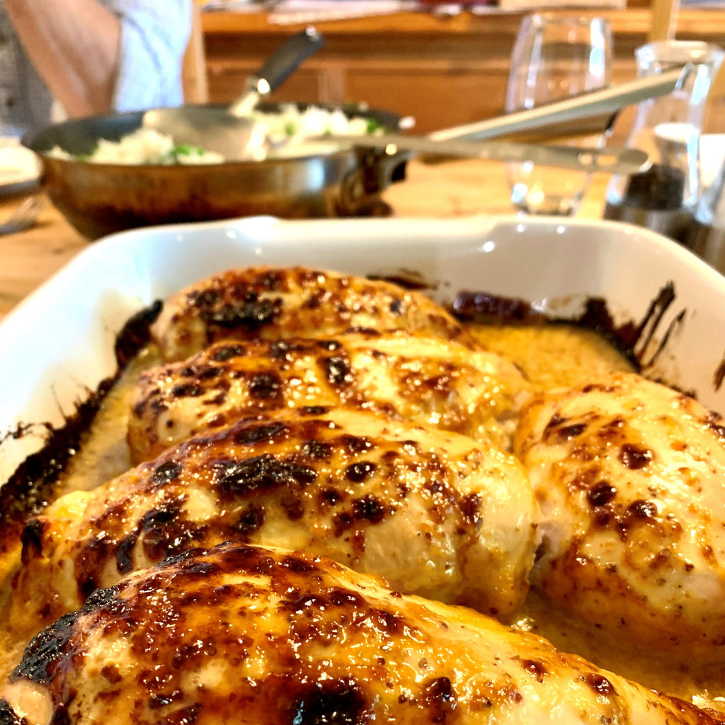 Honey & Mustard Chicken Recipe