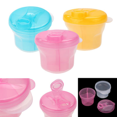 1PC Portable Baby Milk Powder Formula Dispenser Food Container Infant Feeding Storage Box Travel Bottles For Baby Kids Care