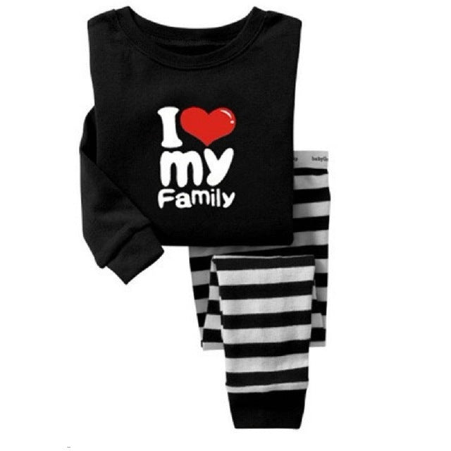 Embroidery Cotton Baby Girls Pajamas